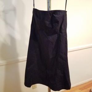 GAP Strapless Black Dress NWOT Size 4